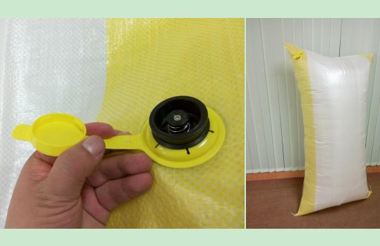 Dunnage bag valve-dunnage bag inflator -dunnage bag pump
