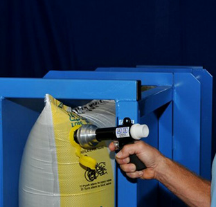 HS-1013C fast dunnage bag inflator gun with tip
