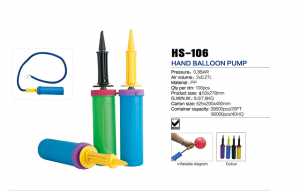 HS-106  hand balloon pump