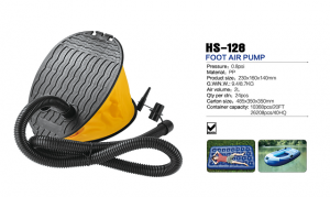 HS-128 foot air pump for inflatable air bed