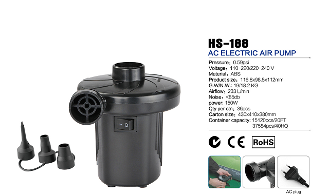 HS-188 AC electric air pump