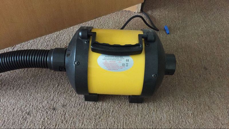 Super High Pressure Blowers : Hs high pressure air blower for dunnage bag co