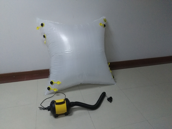 HS-8101 high pressure air blower for dunnage air bag with extension hose (1 meter)