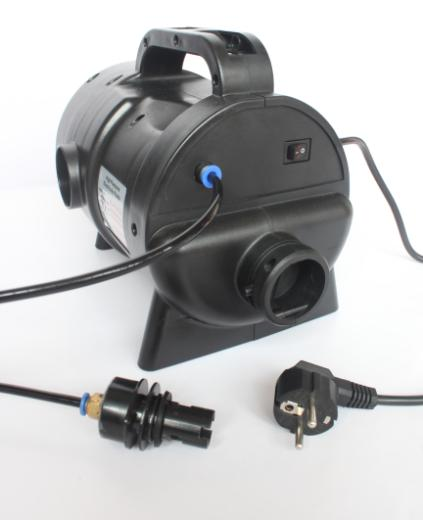 HS-8102B AC high pressure air  blower with automaticly  inflation and stop function)