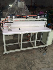 HS-MC001  Dunnage bag sealing machine for PE inner bag and valve
