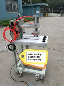 HS-MC004B mini dunnage bag valve sealing machine for dunnage bag