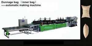 HS-MC006B Fully automatic making machine for dunnage bag (inner and outer bag)