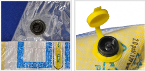 HS- VL001 Inflatable dunnage bag  air valve